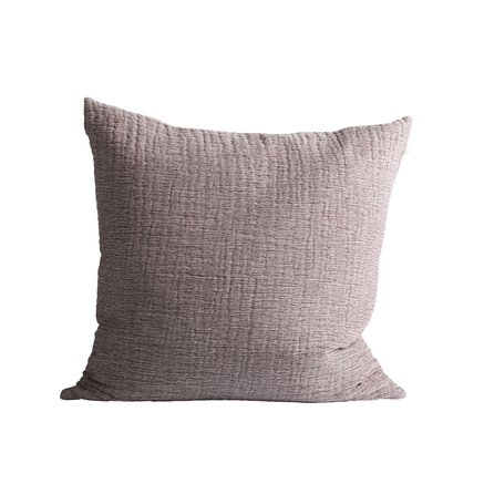 Cushion cover, 50 x 50 cm, 100% cotton, port