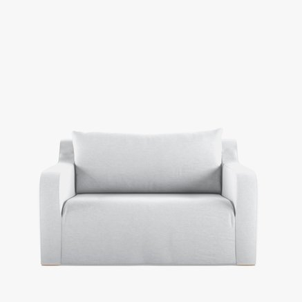 CHAIRSOFT120, ICA WHITE