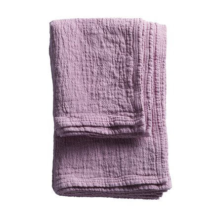 Soft prewashed towel with good suction capacity, pink size 90 x 150 cm