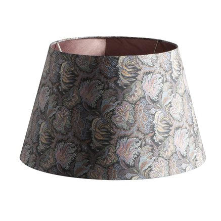 Lamp shade, Liberty, 40 x H 26 cm, cotton, boho