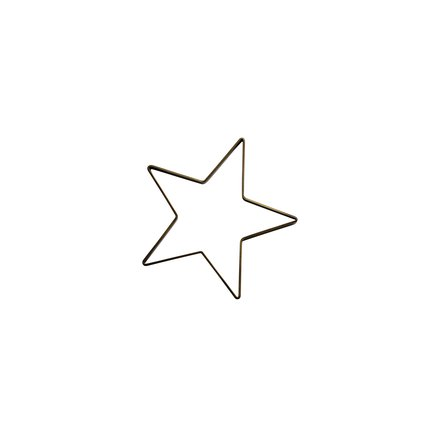 Extra small Christmas star, iron