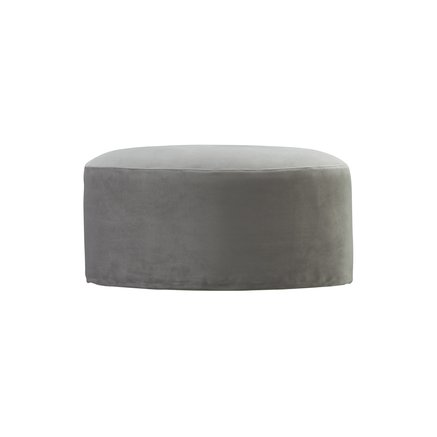 Pouf, oval, velvet, kit