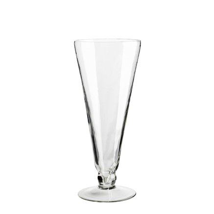 Large 'Lily' glass vase