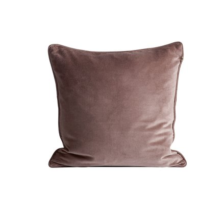 Cushion cover, 50x50, velvet, port