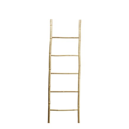Bamboo ladder for storage and decoration