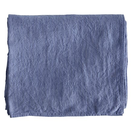 Throw/curtain/tablecloth,pin,140x260cm,linen,blue