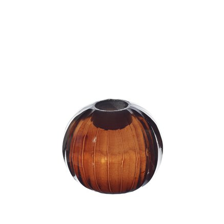Candle holder, round, facet, D 7 cm, port