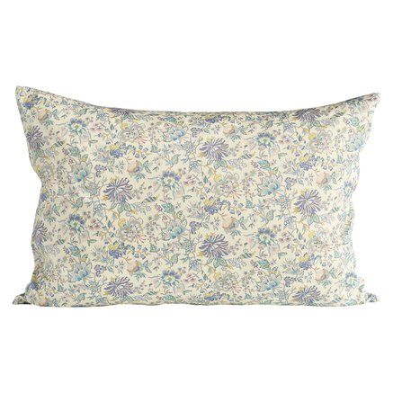 Liberty cushion cover, 40x60 cm,100% cotton,lavend