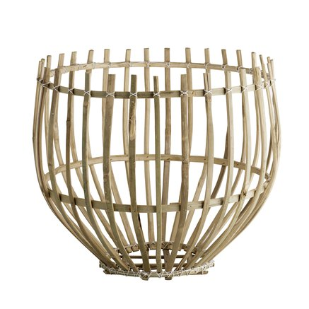 Round basket, D43xH36, natural