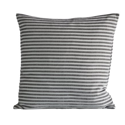 Cushion cover, 50x50 cm, polyester, grey