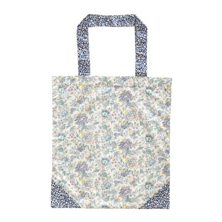 Liberty tote bag, 40xH45 cm, cotton, lavender