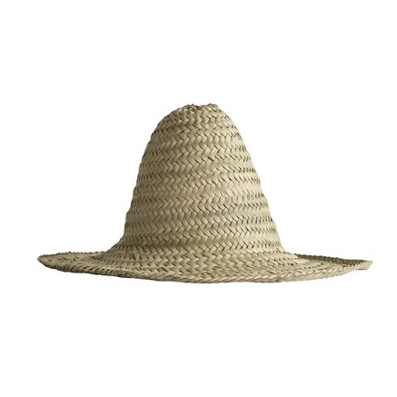 Sunhat in straw, one size