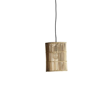 Lampshade in rattan, D22xH30, natural