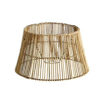 Lampshade in rattan