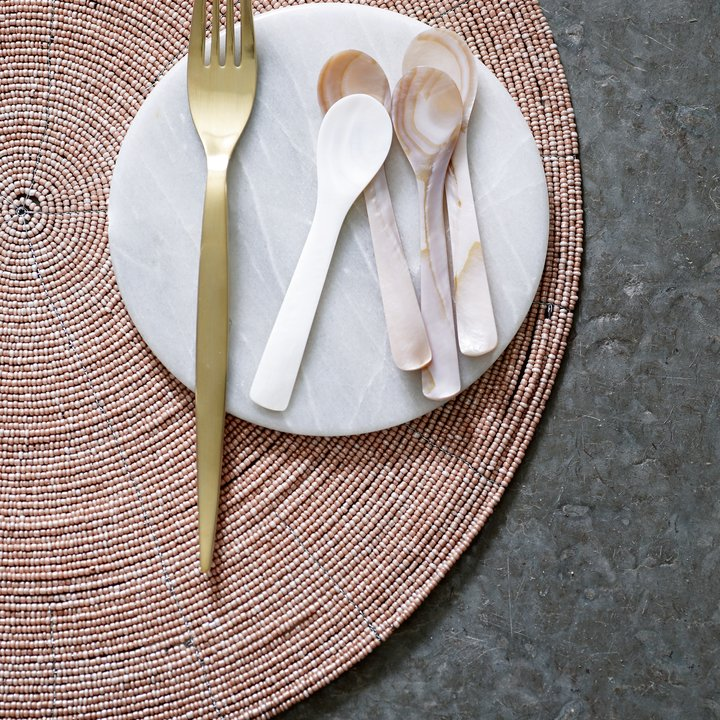 6 Spoons Dust Pearl Products Tine K Home