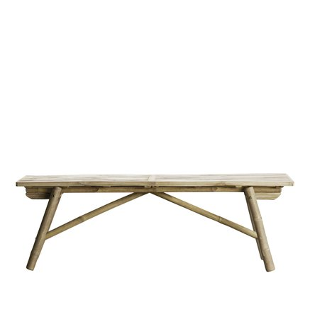 "Bamboo bench, L140x40xH45, ""folding"", natural"