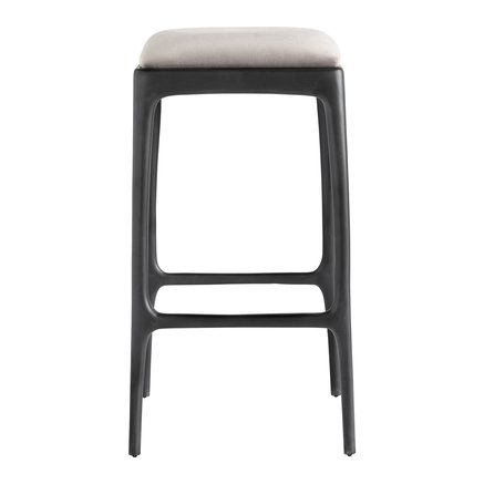 Bar stool, recycled aluminium, 40x40xH75 cm, kit