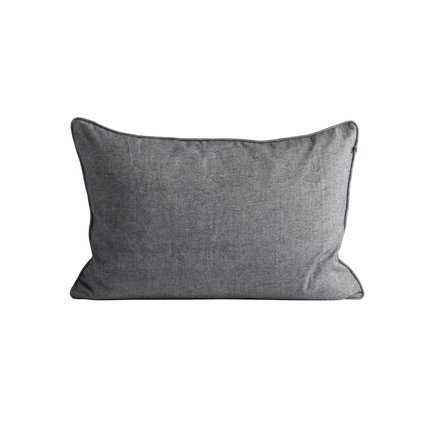 Cushion cover, 40 x 60 cm, brushed cotton, thunder