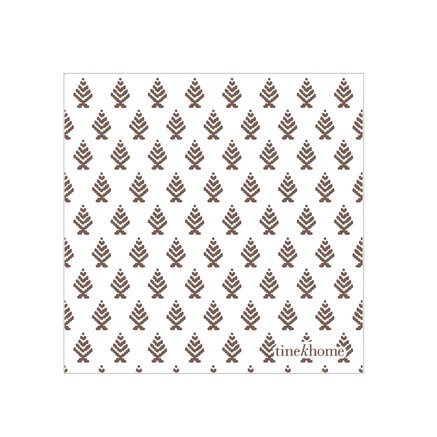 Paper napkins w. tree pattern, port, small