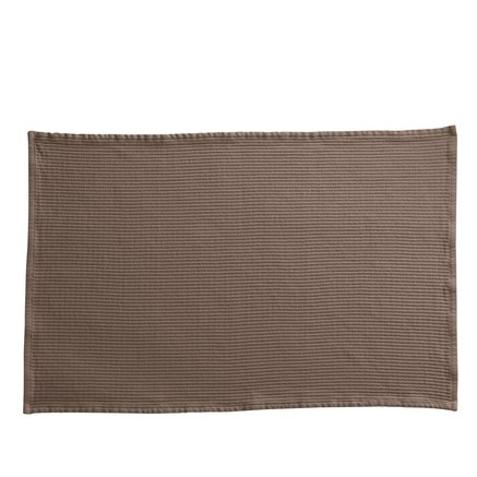 Bath mat, 60x90 cm, 100% cotton, camel