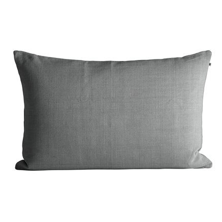 Thick woven cushion cover, 50 x 75 cm, grey