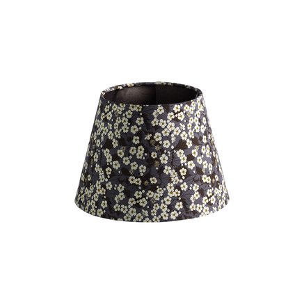 Lamp shade, Liberty, D 22 x H 16 cm, cotton, flo