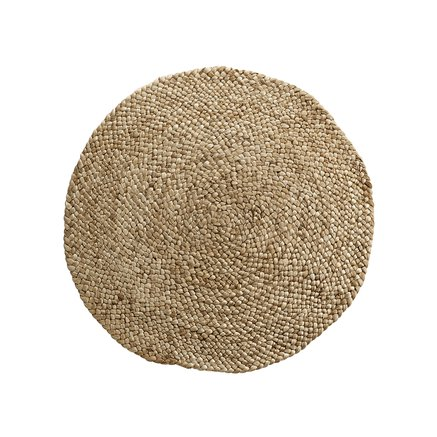 Carpet in jute/hemp, 80 cm