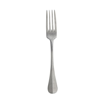 Fork in stainless steel, 20,5 cm, matte