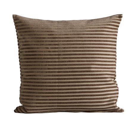Cushion cover, 50x50 cm, polyester, camel