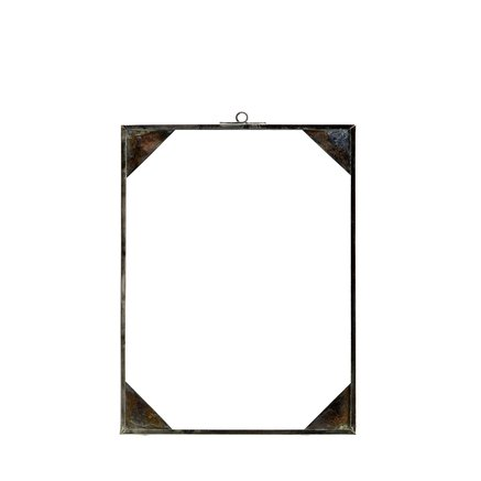Simple glass frame, 18x24, tin