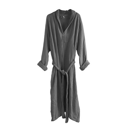 Bathrobe in cotton