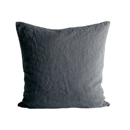Cushion cover in linen, 60 x 60 cm, phantom