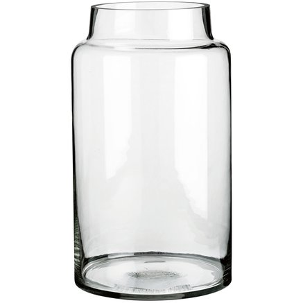 Glass jar D23xH40,5, Large