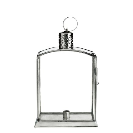Lantern SOLA, for one candle, H52, silver