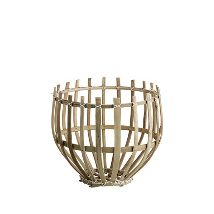 Round basket, D25xH25, natural
