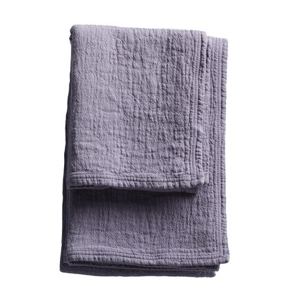 Soft prewashed towel with good suction capacity, lavender size 50 x 100 cm