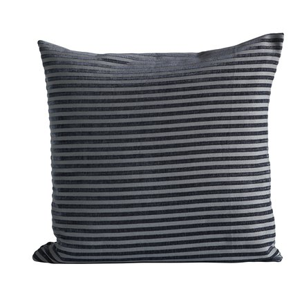 Cushion cover, 50x50 cm, polyester, navy