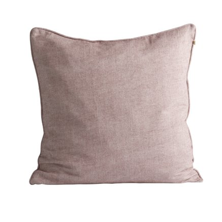 Cushion cover, 60 x 60 cm, brushed cotton, port