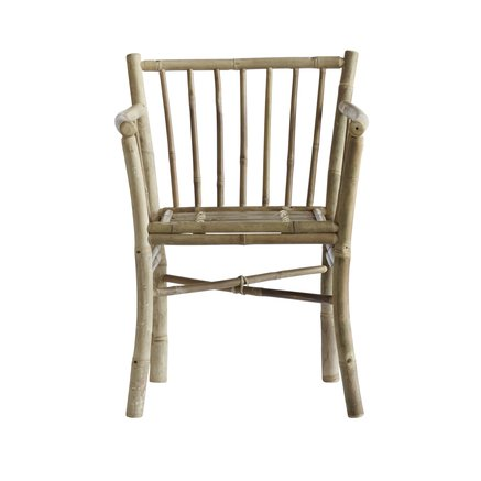 Dining chair, bamboo, natural