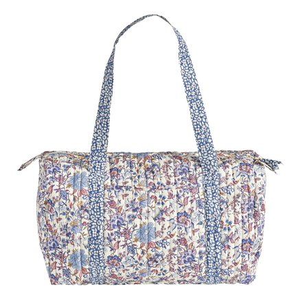 Liberty soft bag, 20x47xH22 cm, cotton, flower