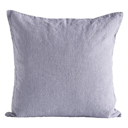 Cushion cover,pin stripe,50x50cm,100%linen,lavener