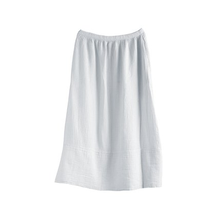 Skirt in woven cotton