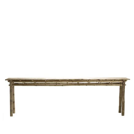 Bamboo console table 280x50xH85, nature