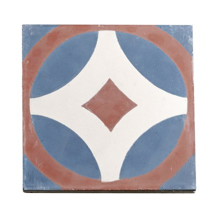 Tile, signpattern, clay