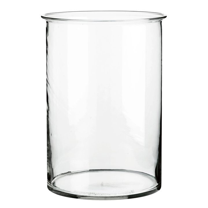Round Glass Vase D22xh305 Large Products Tine K Home