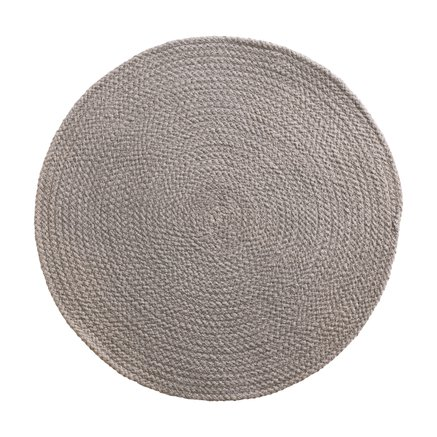 Round placemat, D 40 cm, cotton, kit
