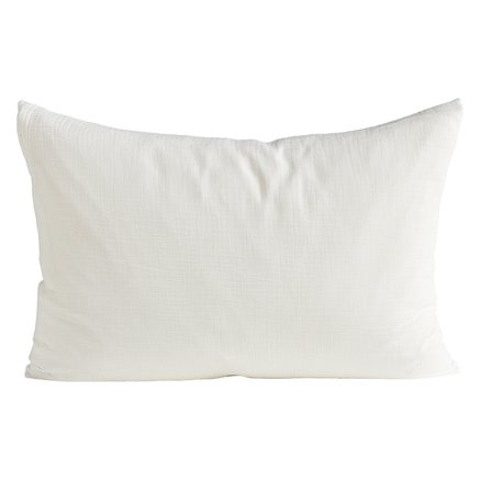Cushion cover, 50 x 75 cm, bomuld, white