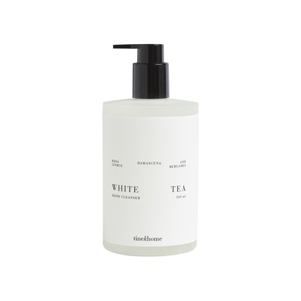 Hand cleansing gels, white tea