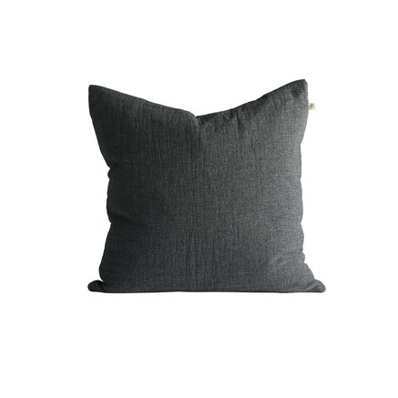 Cushion cover, 50 x 50 cm, cotton/wool, thunder