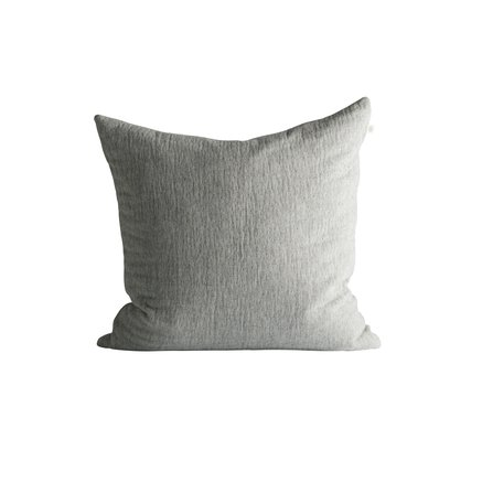 Cushion cover, 50 x 50 cm, cotton/wool, grey